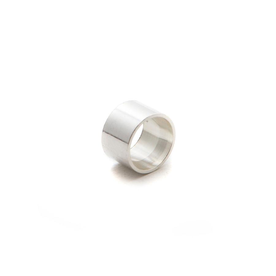 Silver Open Bezel Round 3mm