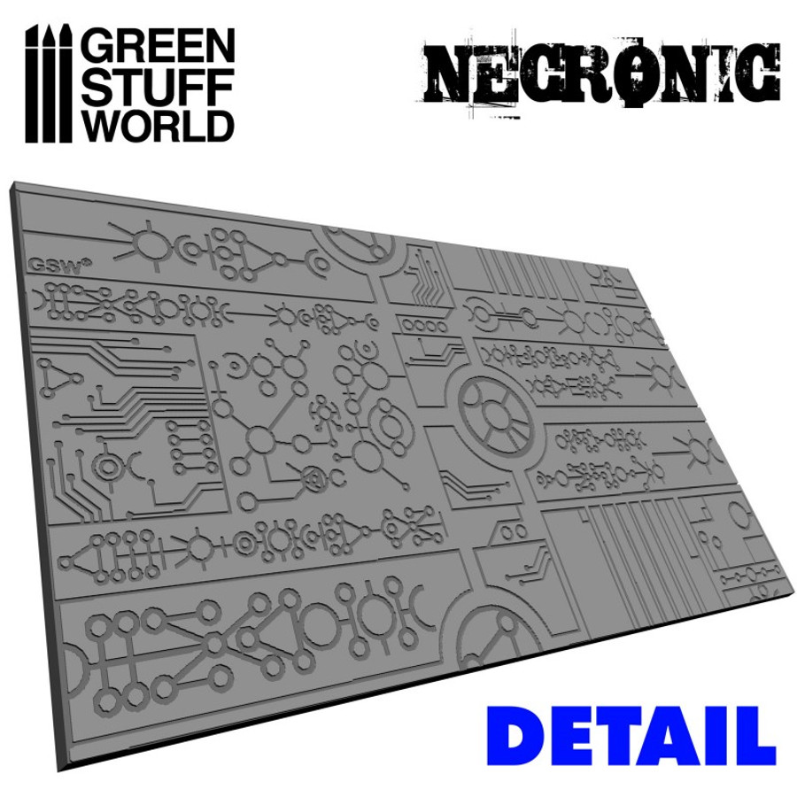 Texture Rolling Pin - Necronic