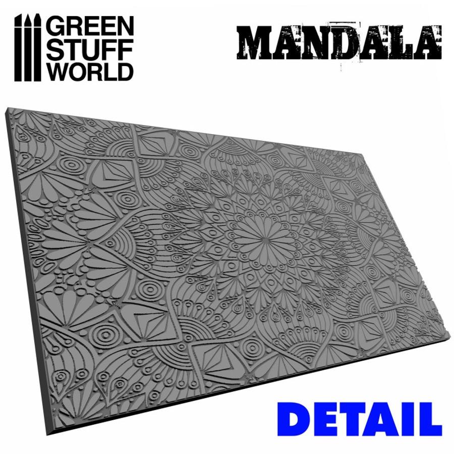 Mandala full texture example