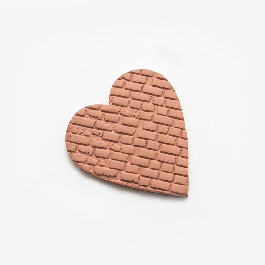Rolling pin dutch brick texture example