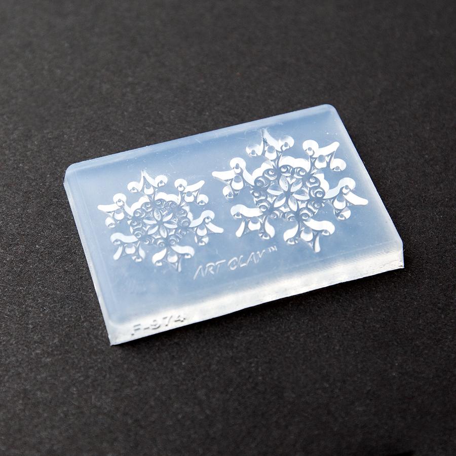 Fern-like Stellar Dendrite Snowflake Mould
