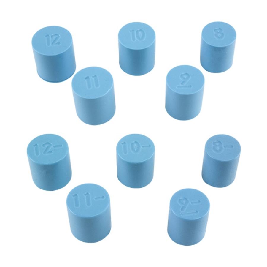 Silicone Ring Mandrel Sizes