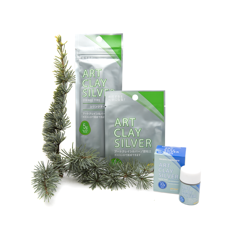 Save nearly 20% on our Art Clay Silver Christmas Trio Kit - special offer! Art Clay Silver Clay, Paste and Syringe in a highly discounted kit.