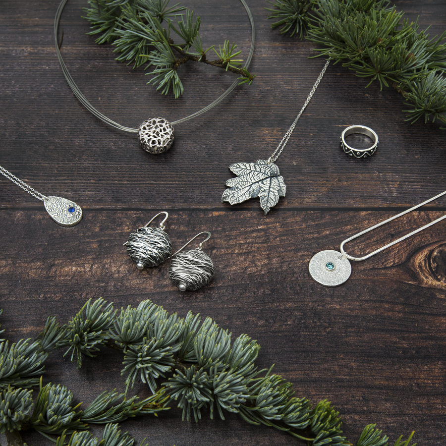 Some of the things you can make with the Art Clay Silver Christmas Trio of Clay, Syringe, and Paste.