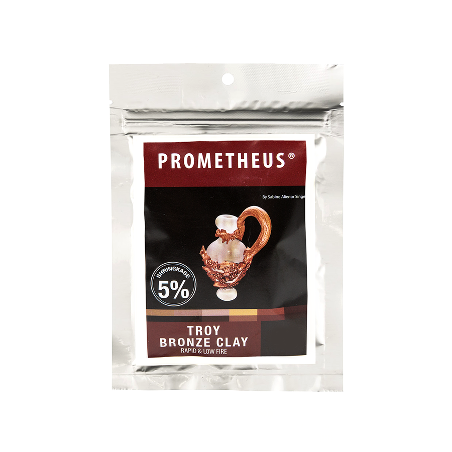 Troy Bronze Base Metal Clay by Prometheus