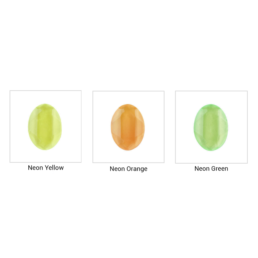 Padico Jewel Neon Colour samples. Now also in Pink!