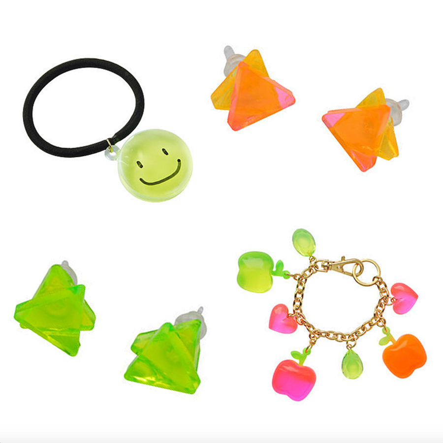 Padico Jewel Neon Colour samples
