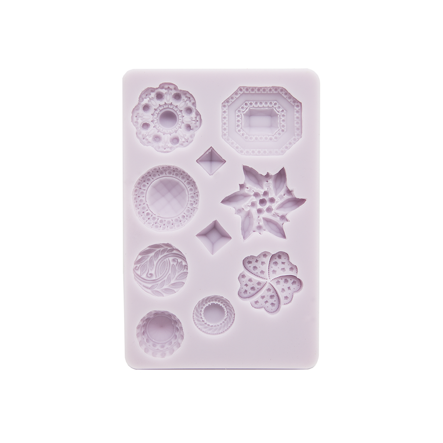 Cernit Silicone Mould Diamond Shapes