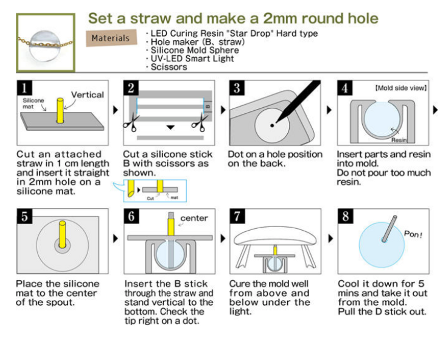 Padico Hole Maker Instructions