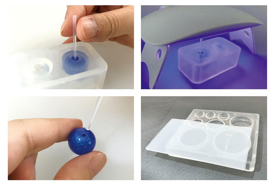 Padico Silicone Resin Mould - Hole Maker