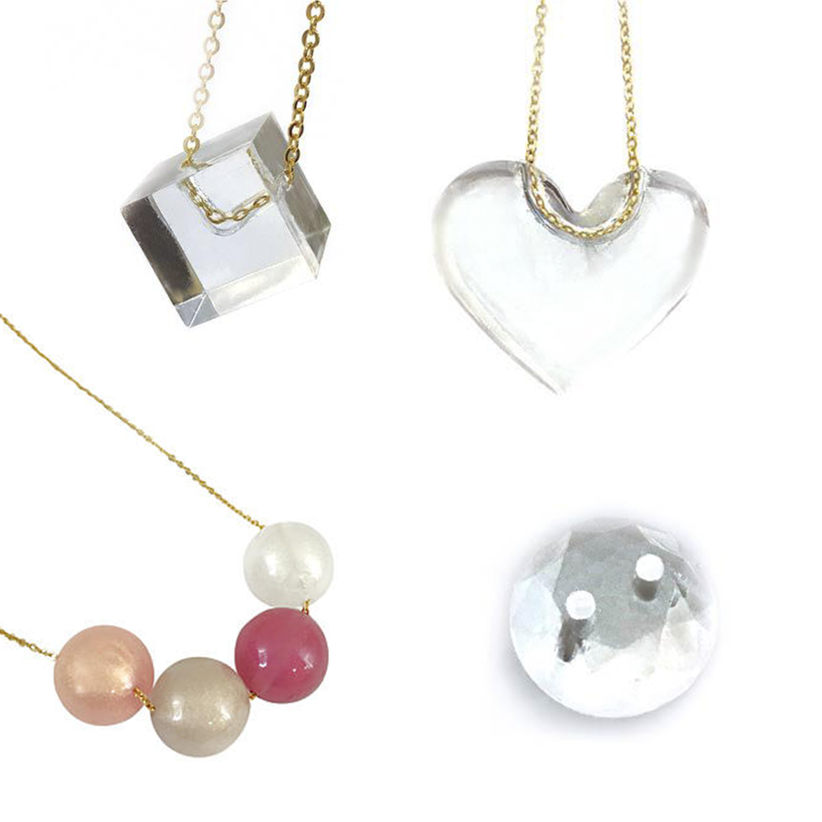 Hole Maker examples in resin