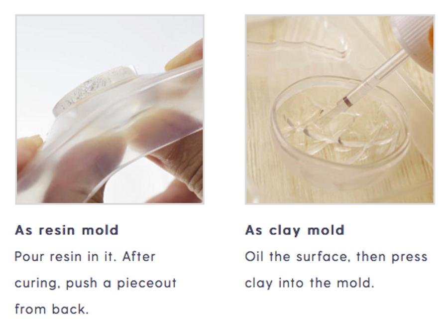 Padico Resin Mould Soft - Bear