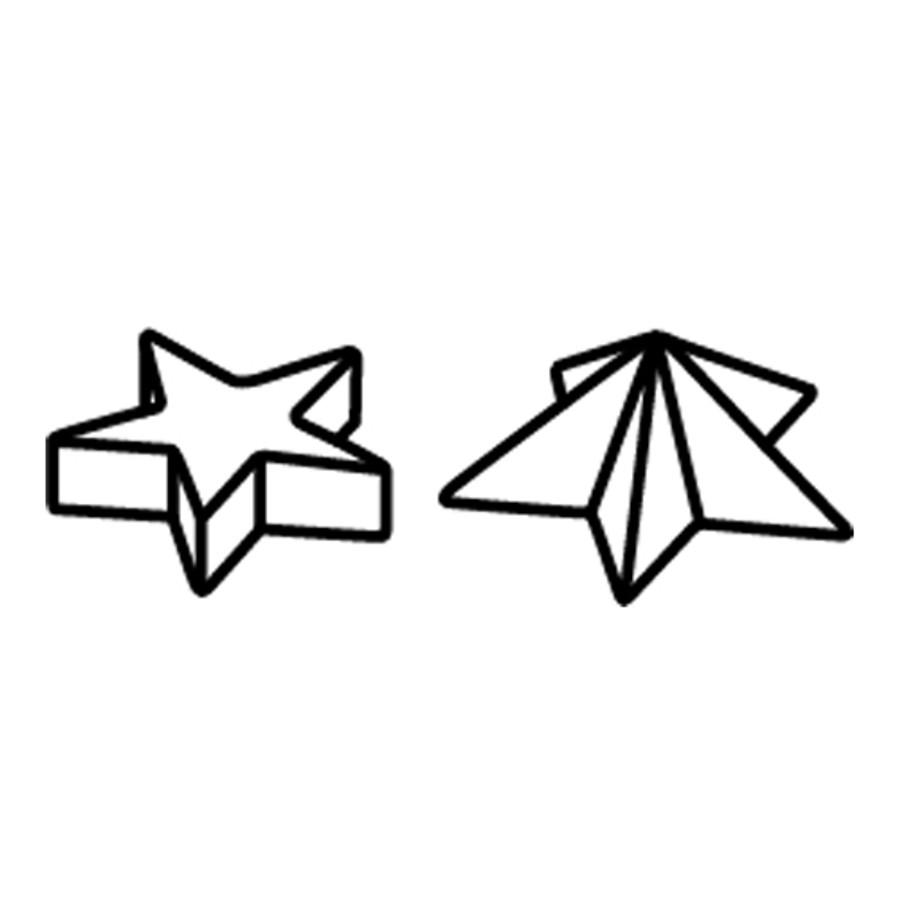 Padico Resin Jewel Mould - Mini Star