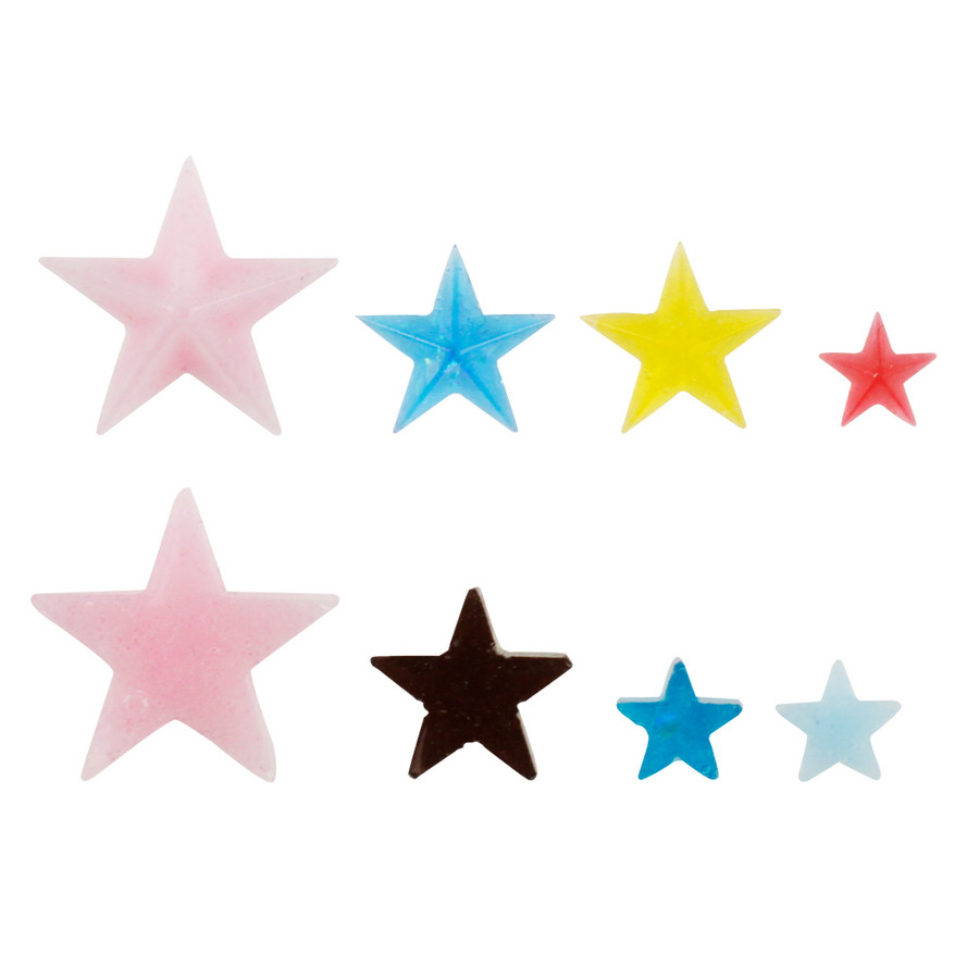 Star shape examples.