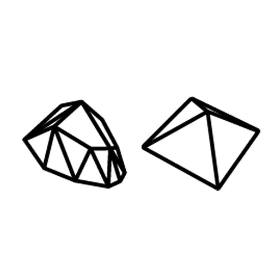 Padico Resin Jewel Mould - Mini Stone