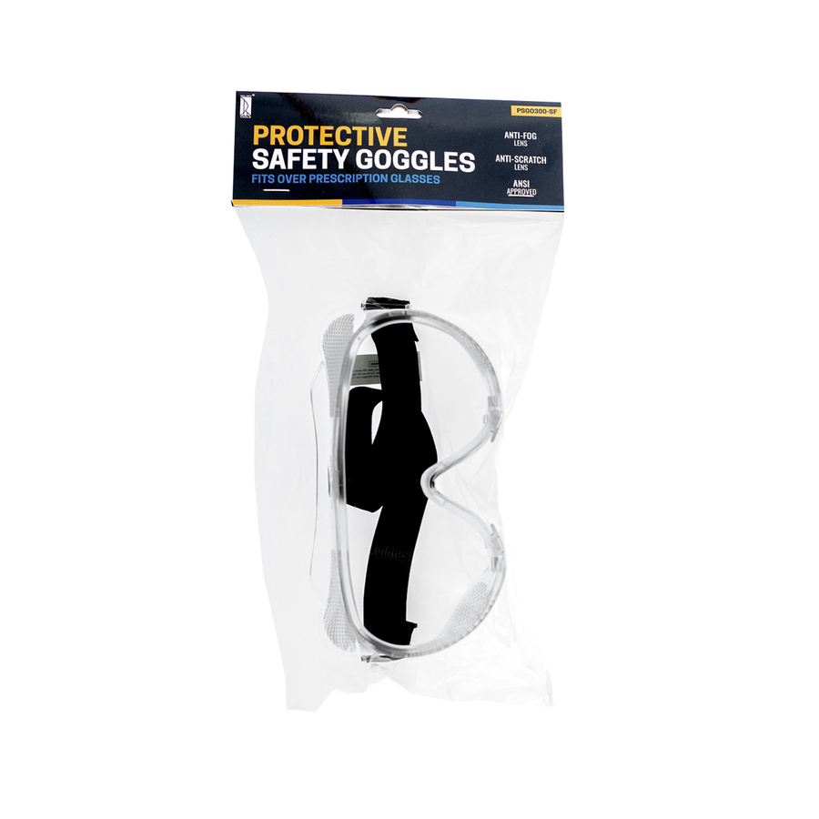 Del Rey Protective Safety Goggles