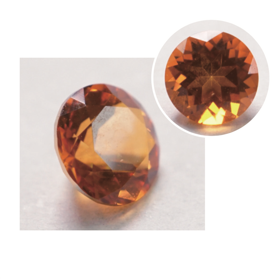 Orange Natural Gemstone