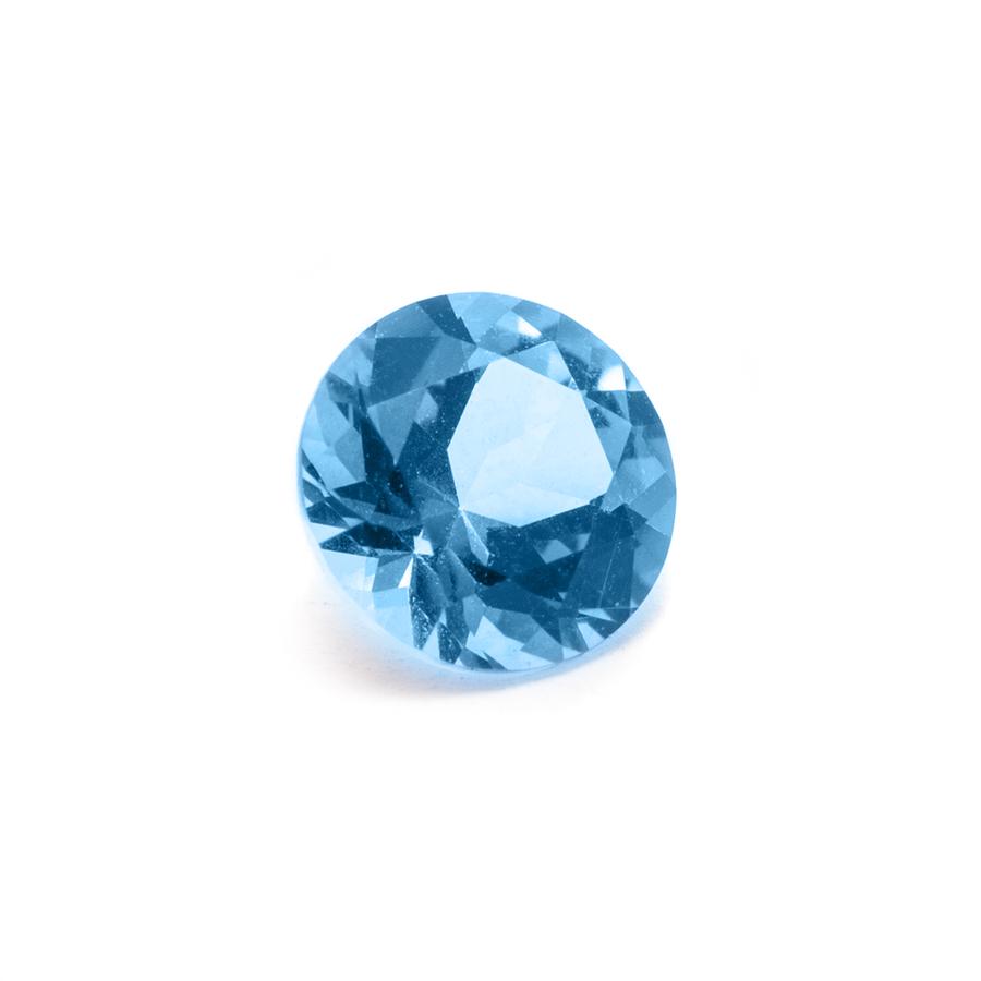 Natural Blue Topaz Gemstone