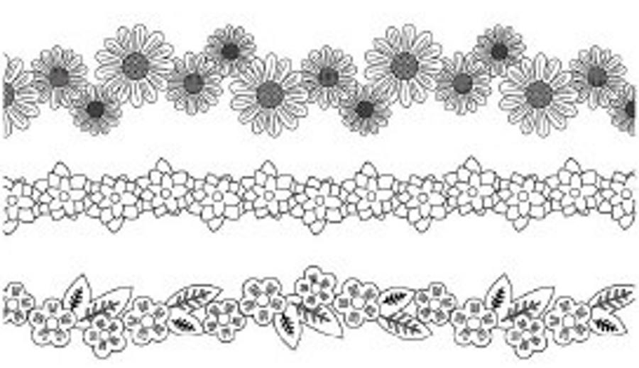 Flower ring designs.