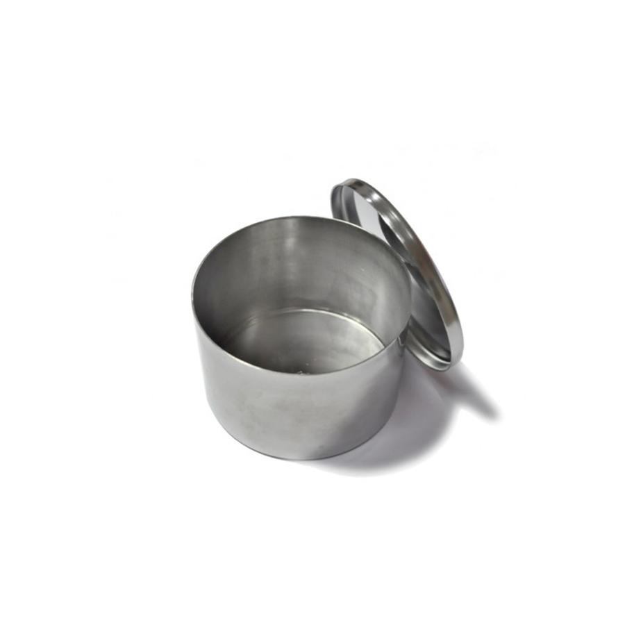 Stainless Steel Round Firing Tin