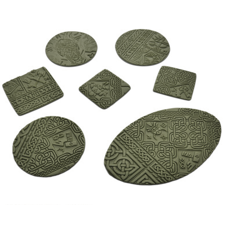Texture examples with Dwarven rolling pin texture
