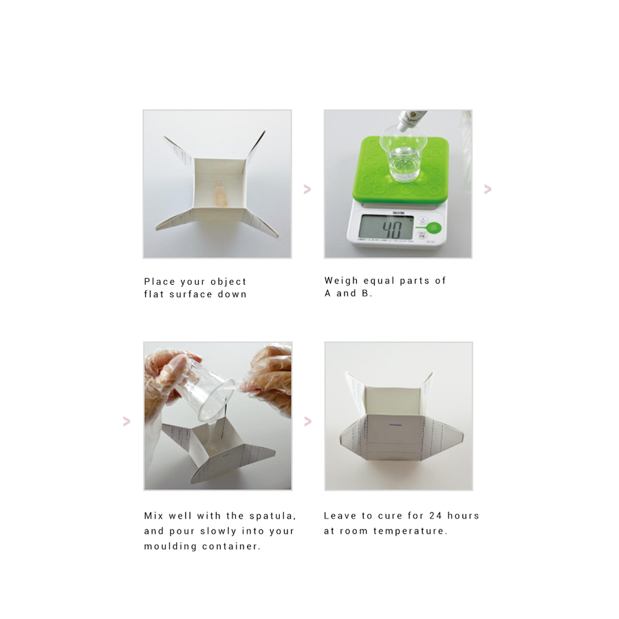 How to use Padico Silicone Mould Making Gel