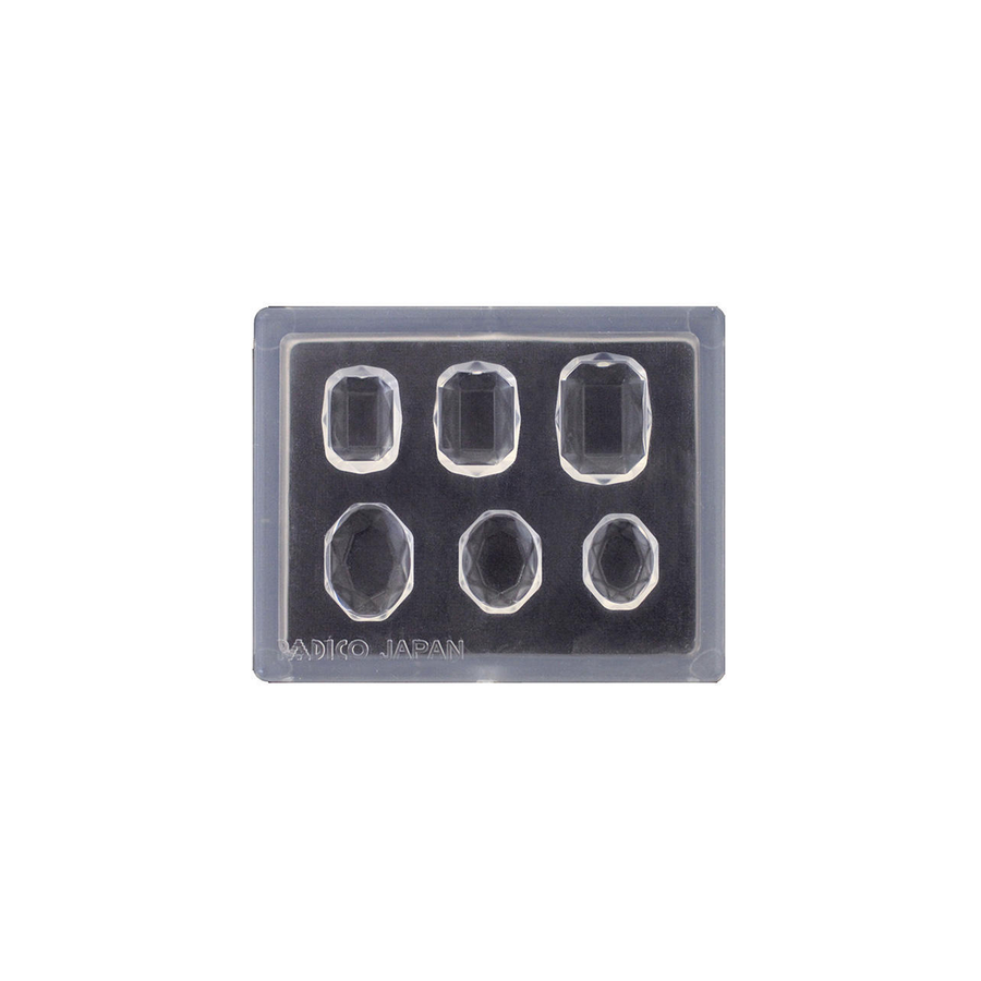Padico Mini Cut Square and Oval Mould for resin