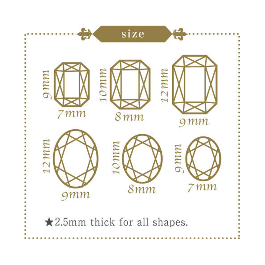 Stone dimensions