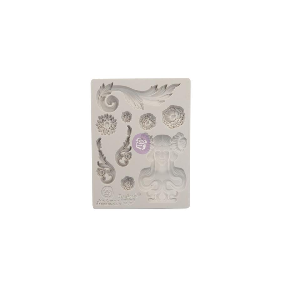"Finnabair Mould by Prima - Imaginarium Fairy Garden 3.5x4.5"""
