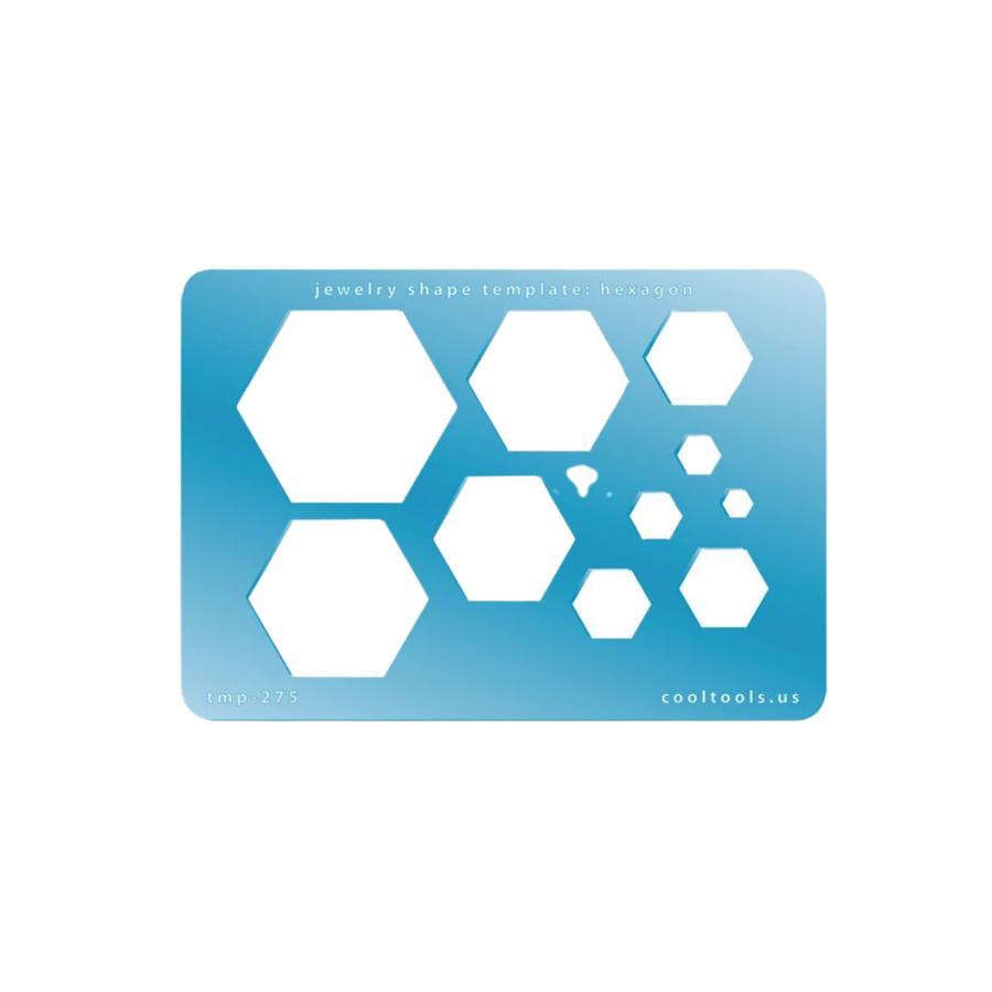 Jewellery Shape Template - Hexagon