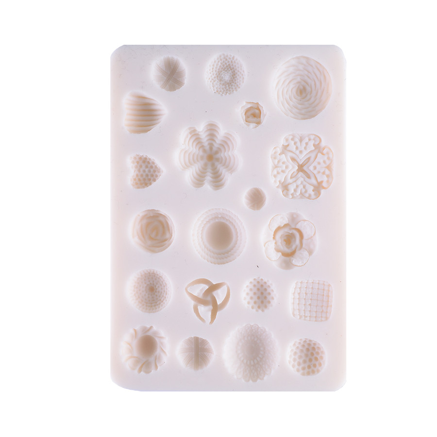 Silicone Mold - Flower 20 Kinds