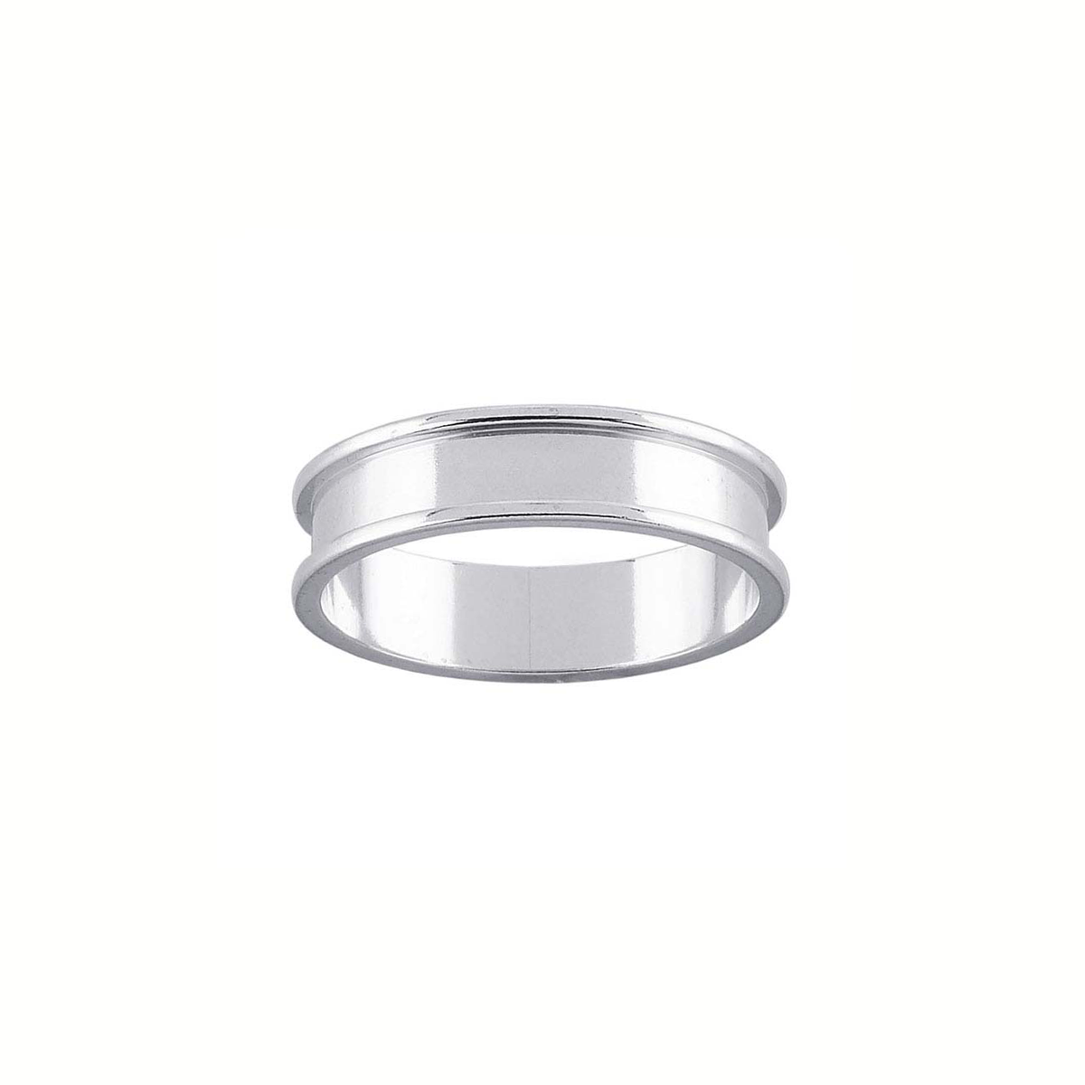 Ring Core 5mm Wide Silver Uk Sizes Ring Making Metal Clay Ltd