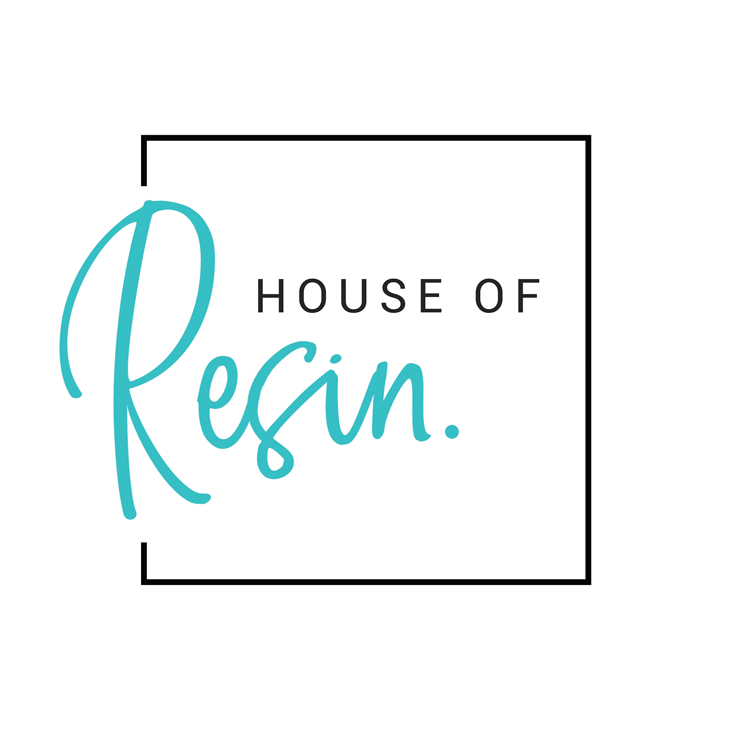 house of resin logo
