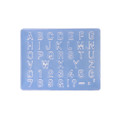 Art Clay Exclusive Mould - Alphabet (Capital Letters)