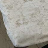 100% Cotton Fitted Crib Sheet - Beige Marble Print