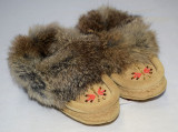 Child Moccasins - Tan