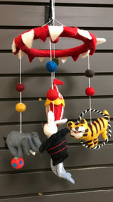 Circus Felt Mobile