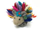 Harriet Hedgehog Felted Wool Toy