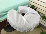 Waterproof Massage Table Face Cradle/Headrest Cover