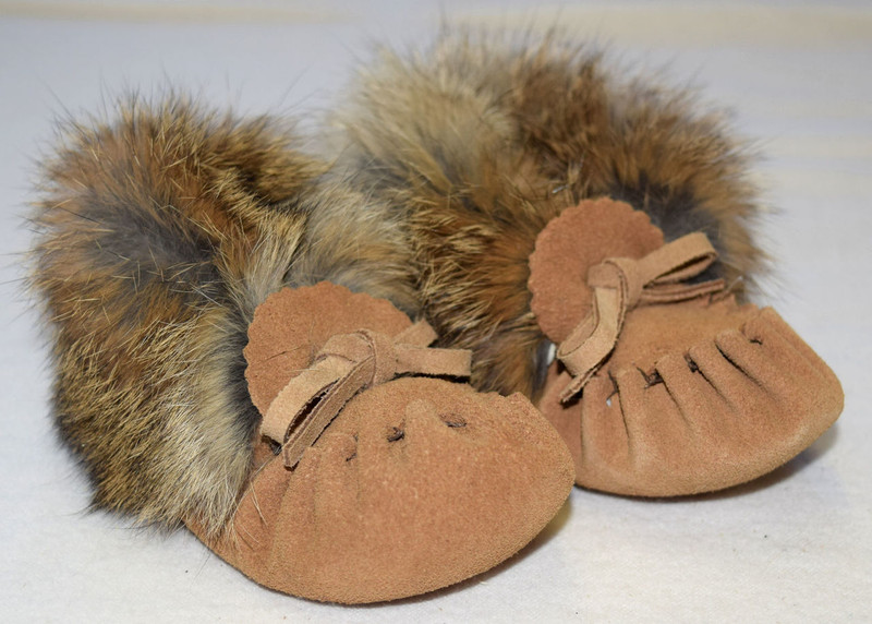 Baby Moccasins - Tan - Baby Love Products