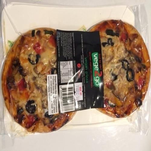 Vegan Pizza Slice-LOW FODMAP (2 pack)