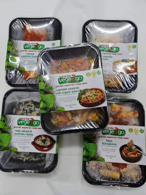 Bulk 5 Day Dinner Pack - Vegetarian