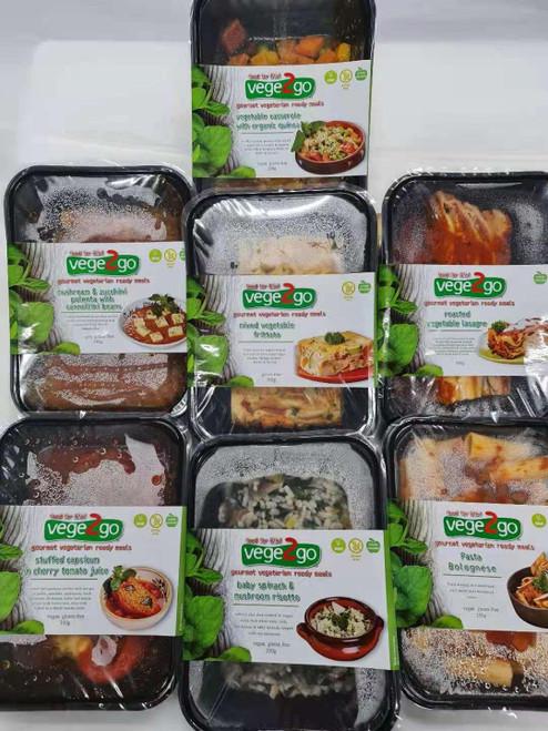 Bulk 7 Day Dinner Pack - Vegetarian