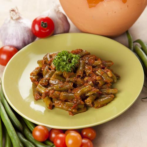 Green Beans & Salsa