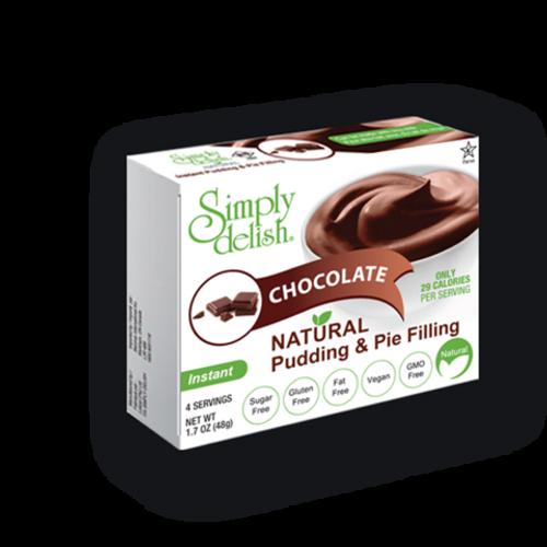 Vegan chocolate pudding & pie filling
