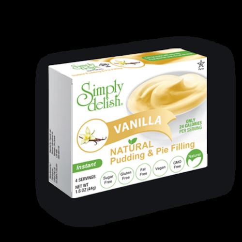 Vegan vanilla pudding & pie filling