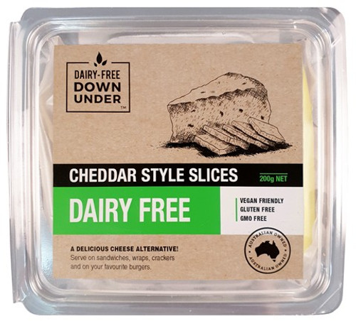 Cheddar style slice Dairy Free