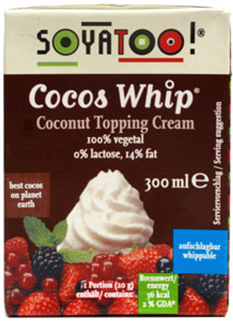 Cocos Whip- Coconut topping cream