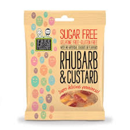 Sugar free rhubarb & custard