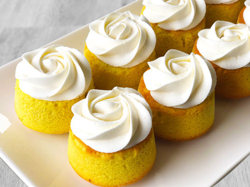 Sugar free lemon almond cake